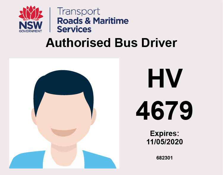 drivers authority card
